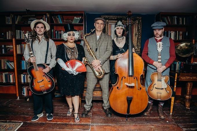 Portrait der Third Armadillo Jazz Band