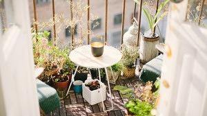 Balkon, Balkongestaltung, Balkon-Inspo, Urban Gardening, Deko, Balkonien, DIY