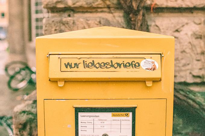 Nur Liebesbriefe Post Briefkasten Zuhause