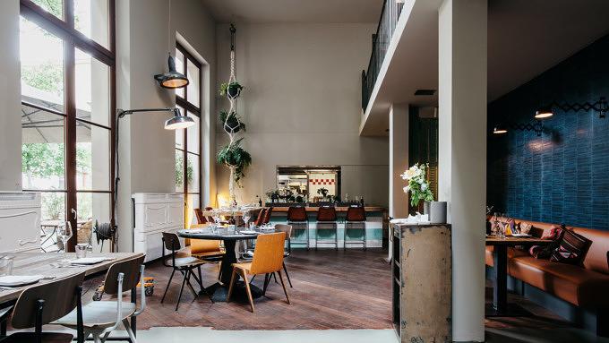 KINK Bar & Restaurant-Einrichtung-Restaurantbereich-Edward Lee