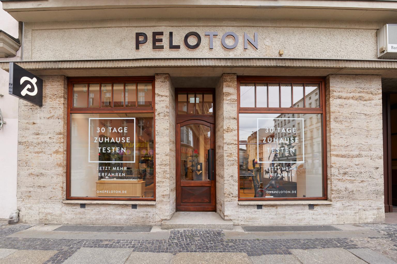 Let's cycle: In Berlin eröffnet endlich der erste Peloton Store