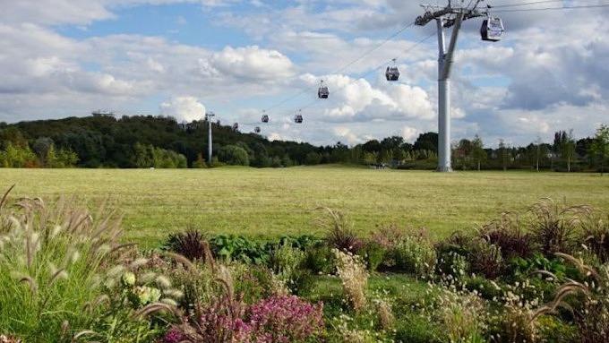 Kienbergpark, Marzahn-Hellersdorf, Seilbahn