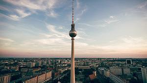 Berlin, Fernsehturm, Stadt