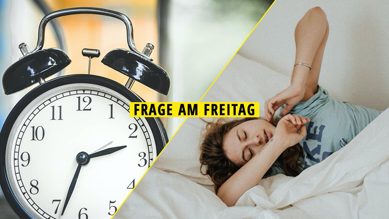 Frage am Freitag: Wie wirkt sich die Zeitumstellung auf unseren Schlaf aus?