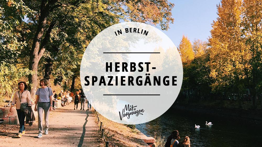 Autumn is okay: 11 schöne Herbstspaziergänge in Berlin