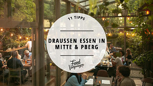 Titelbild Draußen essen in Mitte und Prenzlauer Berg Wintergarten Night Kitchen