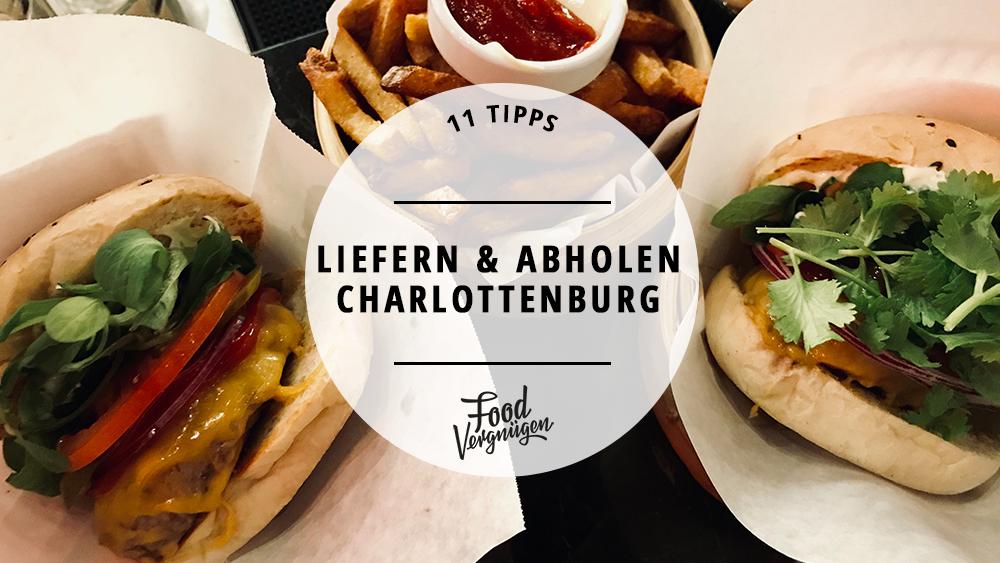 Essen abholen, Liefern, Lieferservice, Take Away, Charlottenburg