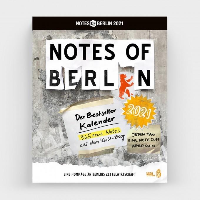 Notes of Berlin, Tageskalender 2021