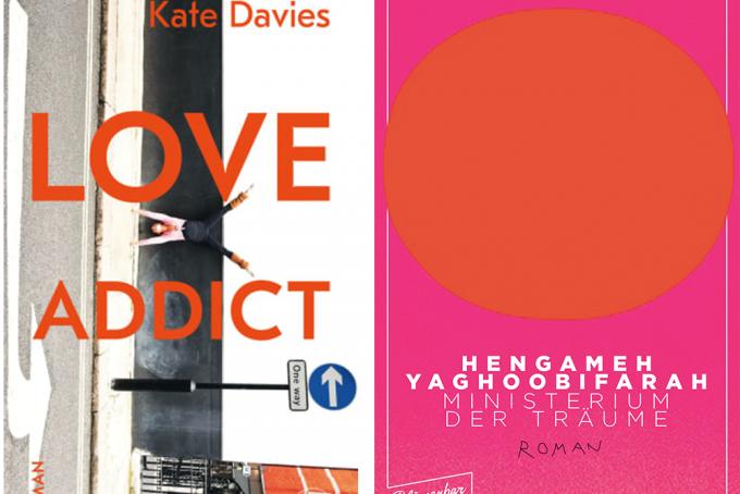 Kate Davis, Love Addict, Hegameh Yaghoobifarah, Ministerium der Träume
