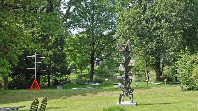 Haus am Waldsee, Skulpturenpark