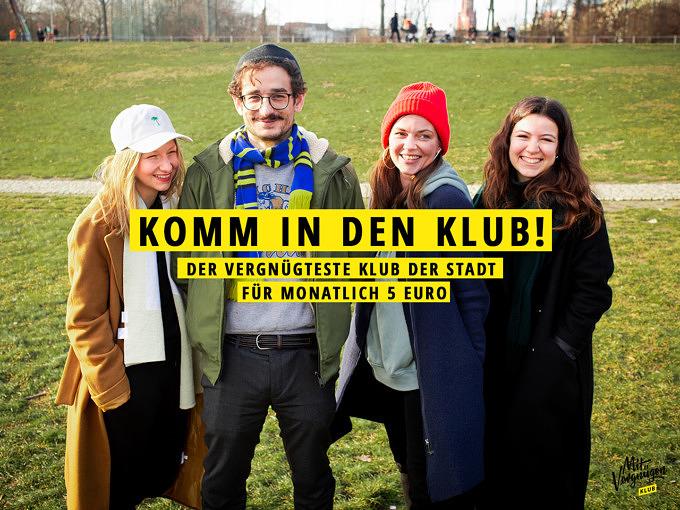 Mit Vergnügen KLUB, Newsletter, Mit Vergnügen Berlin