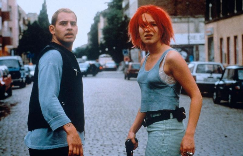 Film, Screenshot, Lola rennt, Franka Potente, Moritz Bleibtreu