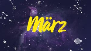 Mit Vergnügen Horoskop, Podcast, März