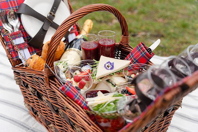 Picknick, Ganymed Brasserie, frühstück