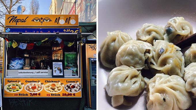 Nepal Momo, Food Truck, Warschauer Straße