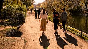 Spaziergang, spazieren gehen, Berlin, Landwehrkanal