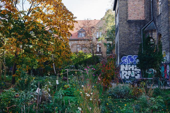 Bethanien, Kreuzberg, Garten