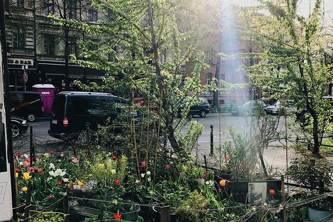 Vorgarten, Schlesische Straße