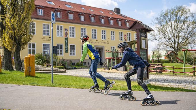 Skatehotel, Fläming, Brandenburg, Gutshaus Petkus