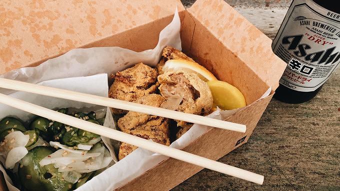 Fried Chicken, Kreuzberg, Gräfestraße kulinarisch, Imbiss, Japanisch