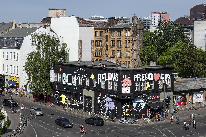 Relove the preloved: Ein neues Mural am KitKatClub will auf mehr Nachhaltigkeit aufmerksam machen
