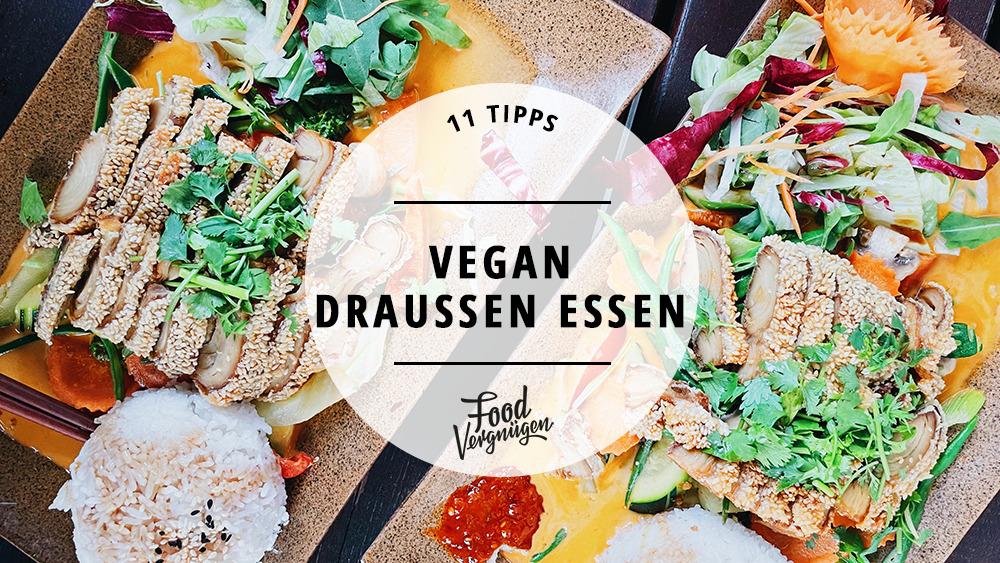 11 Läden, in denen ihr vegan essen und schön draußen sitzen könnt