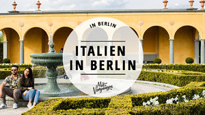 Italien, Berlin, 11 Orte, Guide, Cover