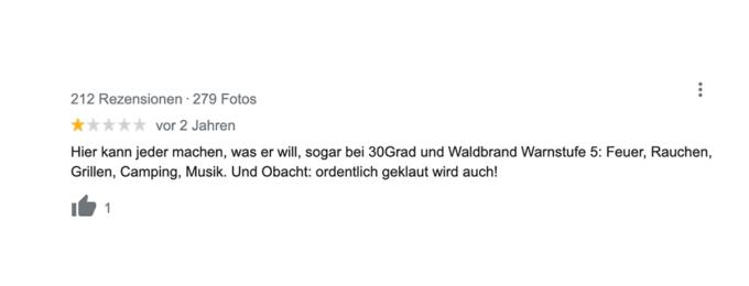 Die 11 lustigsten Google-Bewertungen von Seen in Berlin und Umgebung