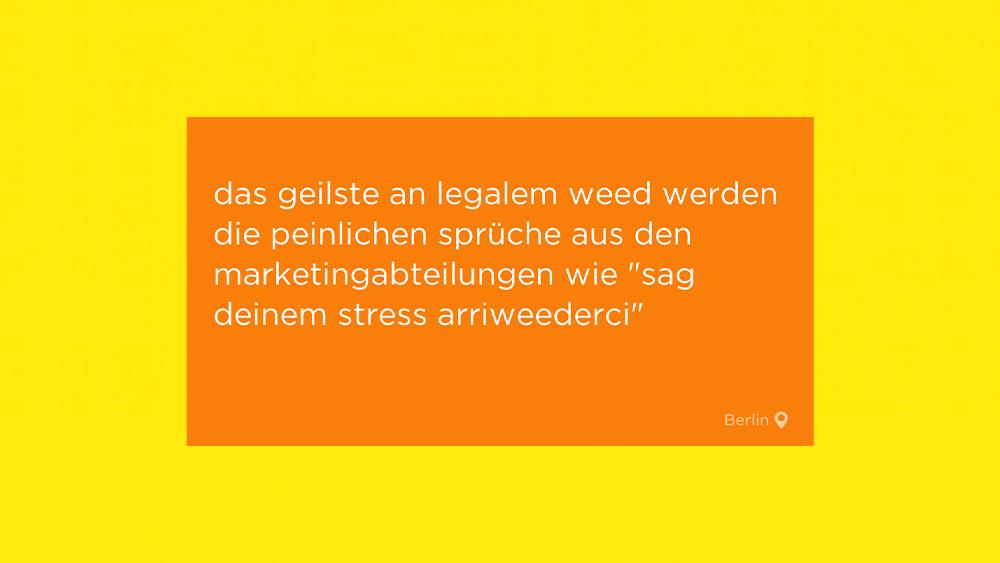 Legalisierung und Benjamin-Blümchen-Torte  – Die Jodel der Woche