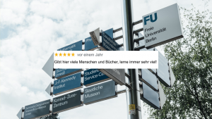 Google-Bewertunge, Berliner Unis